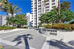 Photo of 3550 Galt Ocean Dr #901, Fort Lauderdale, FL 33308 (MLS # F10188200)