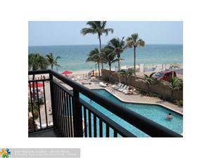 Photo of 3800 GALT OCEAN DR # 308 #308, Fort Lauderdale, FL 33308 (MLS # F1343200)