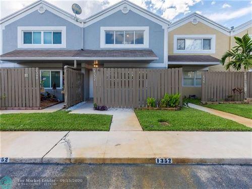Photo of 1352 NW 122nd Ter, Pembroke Pines, FL 33026 (MLS # F10248202)
