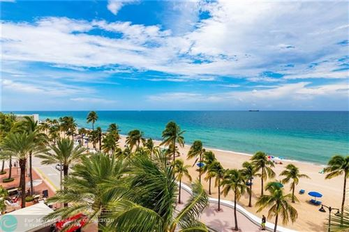 Photo of 101 S Fort Lauderdale Beach Blvd #508, Fort Lauderdale, FL 33316 (MLS # F10246203)