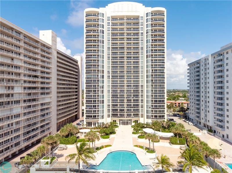 Photo of 4240 Galt Ocean Dr #1705, Fort Lauderdale, FL 33308 (MLS # F10221203)