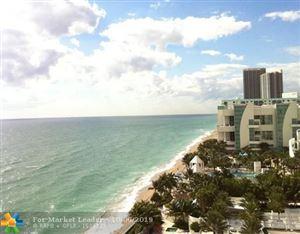 Photo of 3505 S Ocean Dr #1214, Hollywood, FL 33019 (MLS # F10194206)