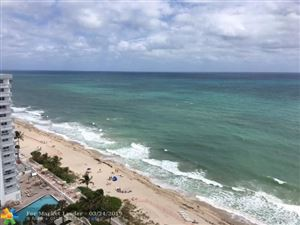 Photo of 4100 E Galt Ocean Dr #1809, Fort Lauderdale, FL 33308 (MLS # F10167210)