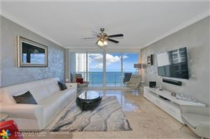 Photo of 3100 N Ocean Blvd #1202, Fort Lauderdale, FL 33308 (MLS # F10181210)
