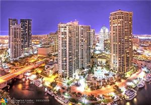 Photo of 347 N NEW RIVER DR E #2905, Fort Lauderdale, FL 33301 (MLS # F10174211)