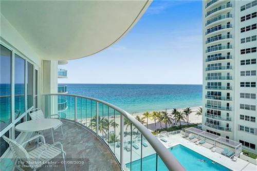 Photo of 3410 Galt Ocean Drive #604 N, Fort Lauderdale, FL 33308 (MLS # F10236211)