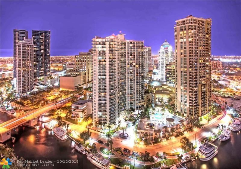 Photo for 347 N NEW RIVER DR E #2905, Fort Lauderdale, FL 33301 (MLS # F10174211)