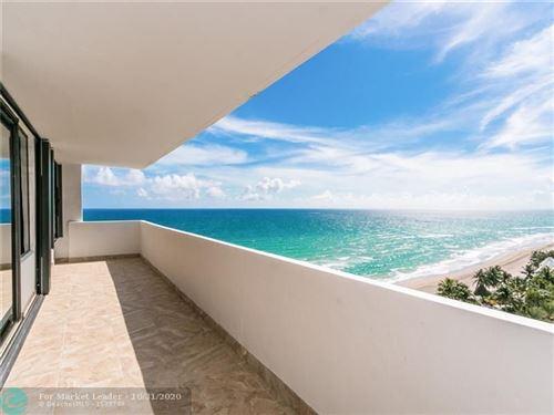 Photo of 3505 S Ocean Dr #1214, Hollywood, FL 33019 (MLS # F10255213)