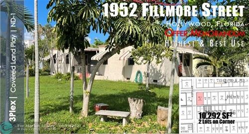 Photo of 1952 Fillmore St, Hollywood, FL 33020 (MLS # F10302216)