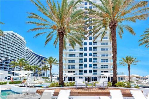 Photo of 505 N Fort Lauderdale Beach Blvd #810, Fort Lauderdale, FL 33304 (MLS # F10232221)