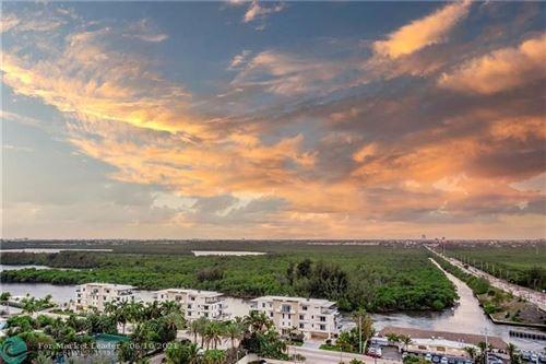Photo of 6051 N Ocean Dr #1503, Hollywood, FL 33019 (MLS # F10278222)