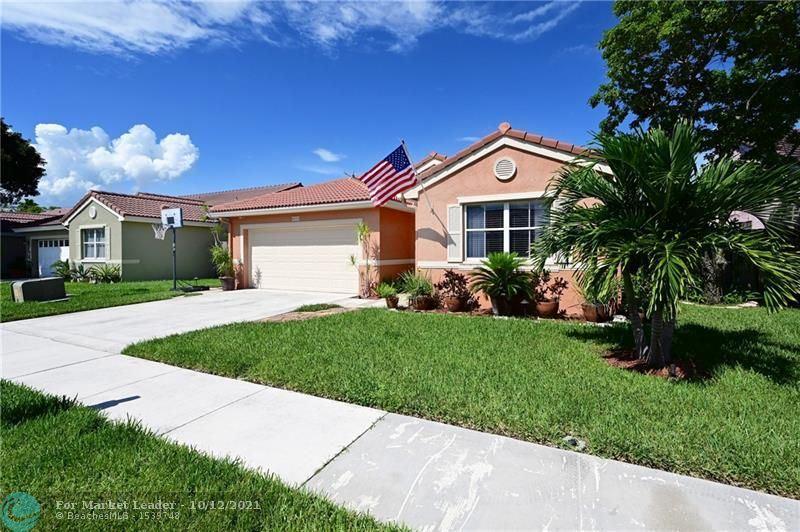 Photo of 6629 Schooner Terrace, Margate, FL 33063 (MLS # F10304223)