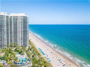 Foto de inmueble con direccion 3200 N OCEAN BL #1809 Fort Lauderdale FL 33308 con MLS F10181224