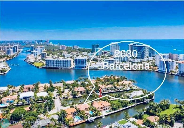 2630 Barcelona Dr, Fort Lauderdale, FL 33301 - #: F10275225