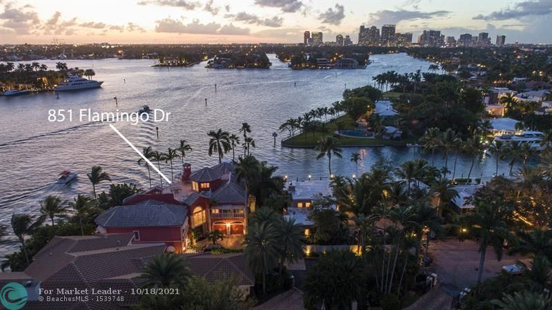 Photo of 851 Flamingo Dr, Fort Lauderdale, FL 33301 (MLS # F10298225)