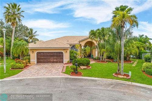 Photo of 6180 NW 99th Way, Parkland, FL 33076 (MLS # F10212228)