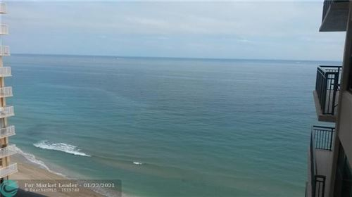 Photo of 3800 Galt Ocean Dr #1504, Fort Lauderdale, FL 33308 (MLS # F10267231)