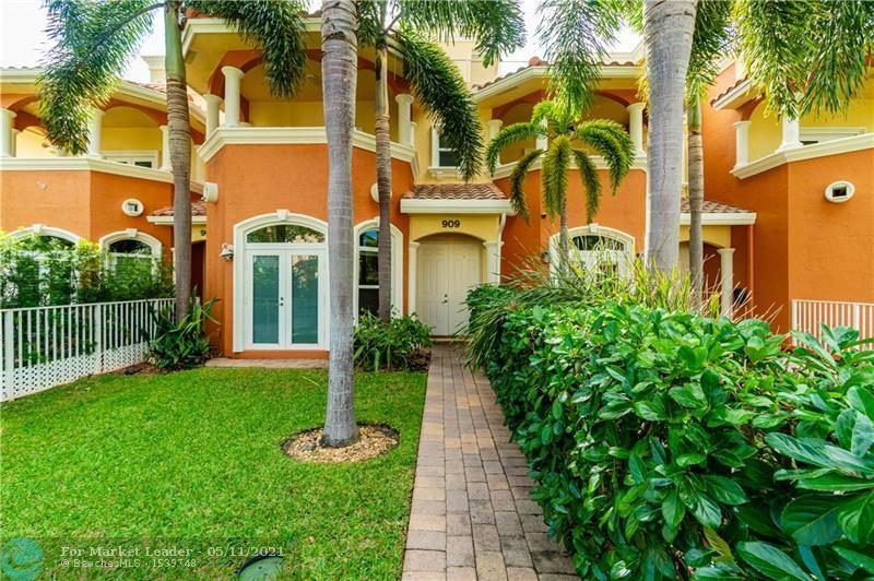 909 NE 17TH WAY, Fort Lauderdale, FL 33304 - #: F10279234