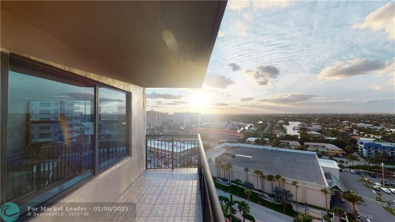 Photo of 3800 Galt Ocean Drive #1515, Fort Lauderdale, FL 33308 (MLS # F10259236)