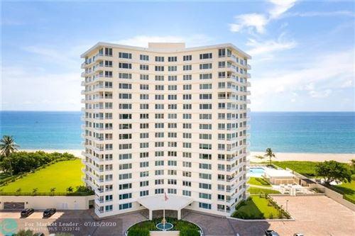 Photo of 600 S Ocean Blvd #406, Boca Raton, FL 33432 (MLS # F10238239)