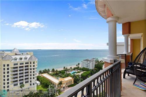 Photo of 2001 N Ocean Blvd #1606, Fort Lauderdale, FL 33305 (MLS # F10301241)