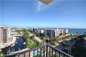 Photo of 1150 Hillsboro Mile #1002, Hillsboro Beach, FL 33062 (MLS # F10160242)