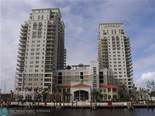 Photo of 610 W Las Olas Blvd #816N, Fort Lauderdale, FL 33312 (MLS # F10293242)