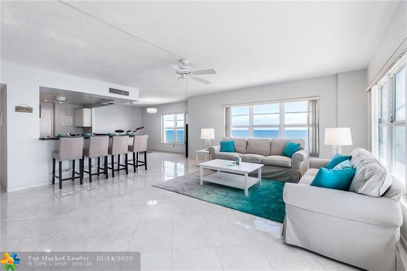 Photo of 3850 Galt Ocean Dr #1401, Fort Lauderdale, FL 33308 (MLS # F10211243)