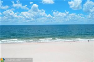Photo of 3800 Galt Ocean Dr #505, Fort Lauderdale, FL 33308 (MLS # F10136244)