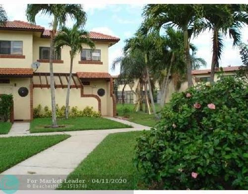 Photo of 4763 NW 90TH AV #118, Sunrise, FL 33351 (MLS # F10218244)
