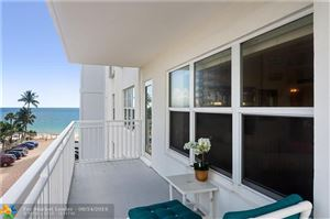 Photo of 3750 Galt Ocean Dr #407, Fort Lauderdale, FL 33308 (MLS # F10190249)