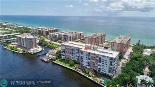 Photo of Listing MLS f10236250 in 1150 HILLSBORO MILE #801 Hillsboro Beach FL 33062