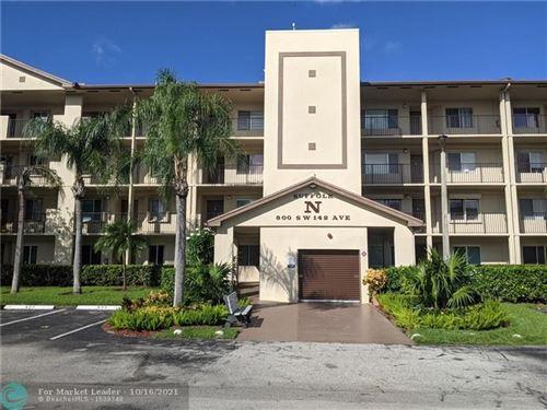 Photo of 800 SW 142nd Ave #308N, Pembroke Pines, FL 33027 (MLS # F10304252)