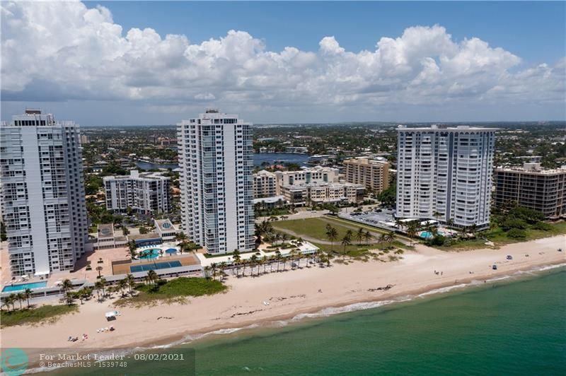 Photo of 1360 S Ocean Blvd #1201, Pompano Beach, FL 33062 (MLS # F10295252)