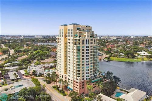 Photo of 3055 Harbor Dr #602, Fort Lauderdale, FL 33316 (MLS # F10304253)