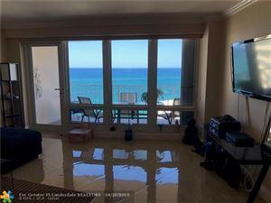 Photo of 4100 Galt Ocean Dr #1702, Fort Lauderdale, FL 33308 (MLS # F10118254)