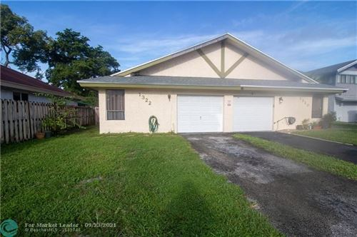 Photo of 1322 SW 74th Ave, North Lauderdale, FL 33068 (MLS # F10301254)