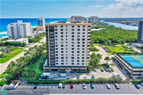 Photo of 3400 S Ocean Blvd #3H, Highland Beach, FL 33487 (MLS # F10306255)