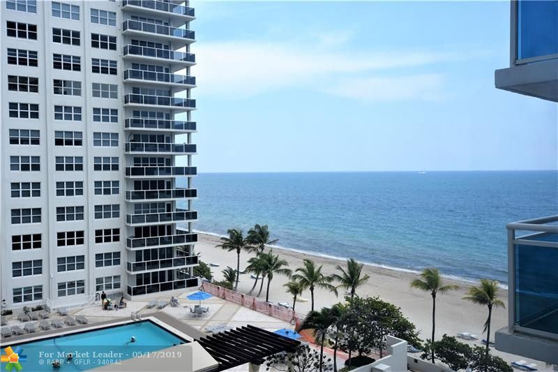 Photo for 3430 Galt Ocean Dr #704, Fort Lauderdale, FL 33308 (MLS # F10176262)