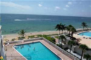 Photo of 4250 Galt Ocean Dr #6D, Fort Lauderdale, FL 33308 (MLS # F10192263)