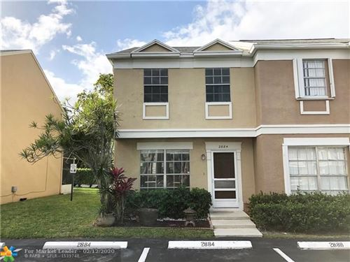 Foto de inmueble con direccion 2884 S Edgehill Ln #2884 Cooper City FL 33026 con MLS F10214264