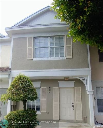 Photo of Listing MLS f10236264 in 5522 Parade Pl #28 Margate FL 33063