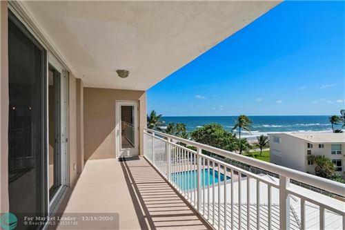 Photo of 1051 Hillsboro Mile #502E, Hillsboro Beach, FL 33062 (MLS # F10256264)