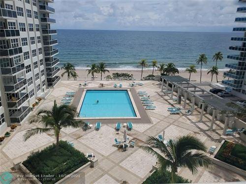 Photo of 3500 Galt Ocean Drive #606, Fort Lauderdale, FL 33308 (MLS # F10306264)