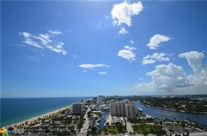 Photo of 100 S Birch Rd #2501, Fort Lauderdale, FL 33316 (MLS # F10103265)