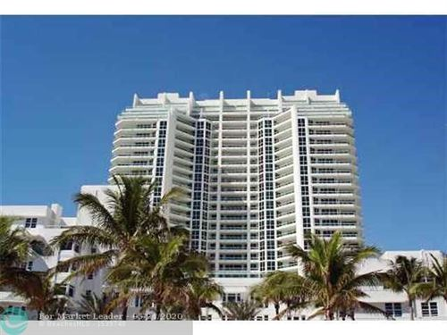 Photo of 101 S Fort Lauderdale Beach Blvd #702, Fort Lauderdale, FL 33316 (MLS # F10230267)