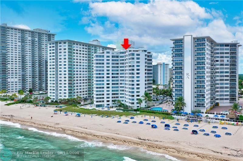 Photo of 3600 Galt Ocean Dr #8C, Fort Lauderdale, FL 33308 (MLS # F10296269)