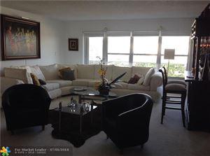 Photo of 3500 Galt Ocean Dr #1008, Fort Lauderdale, FL 33308 (MLS # F10130270)