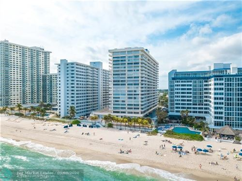 Photo of 4020 Galt Ocean Dr #1406, Fort Lauderdale, FL 33308 (MLS # F10223273)