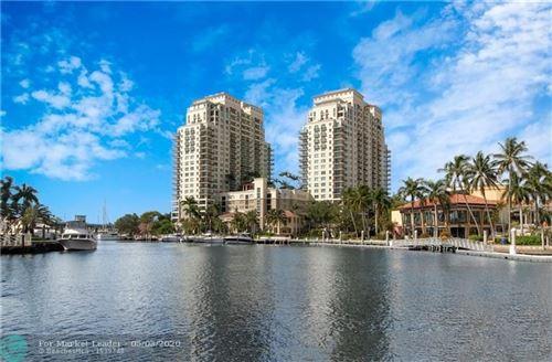 Photo of 610 W Las Olas #1211N, Fort Lauderdale, FL 33312 (MLS # F10227276)